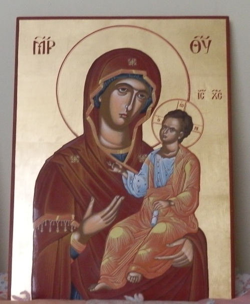 panagia and christ