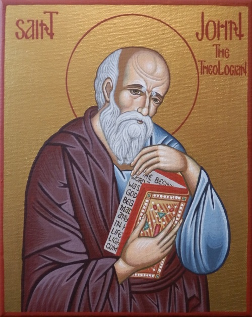st. john beloved and theologian