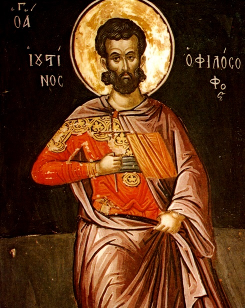 Saint_Justin_Martyr_by_Theophanes_the_Cretan