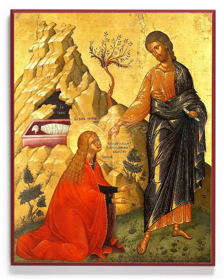 st. mary magdalene and christ