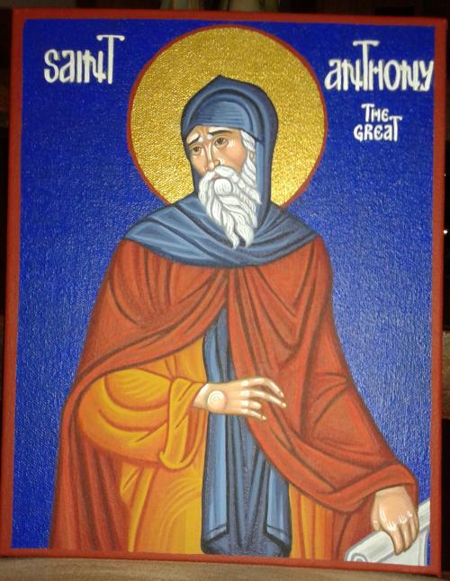 my st. anthony icon